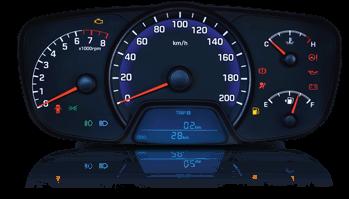 Nội thất Hyundai Grand i10 sedan 1,2MT BASE 2